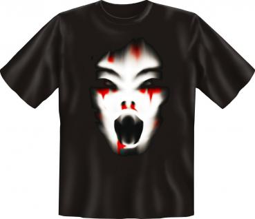 T-Shirt Cry Zombie Halloween Horror Fun Shirts Geburtstag Geschenk geil bedruckt
