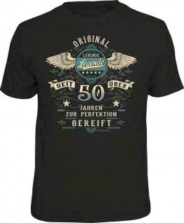 Geburtstag T-Shirt - 50 Jahre zur Perfektion gereift - Fun Shirt Geschenk