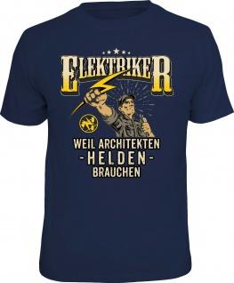 Herren T-Shirt - Elektriker sind Helden - lustige Geschenke Männer Fun-Shirts