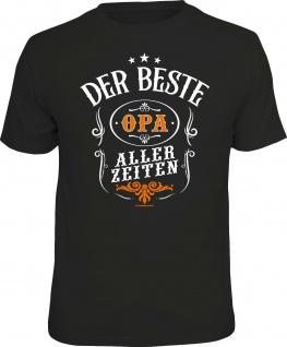 lustiges Geburtstag T-Shirt - Der beste Opa aller Zeiten - Herren Shirt Geschenk