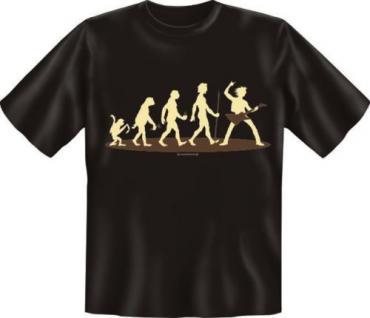 Geil Bedrucktes Musik Fun T Shirt Evolution Musiker Geburtstag