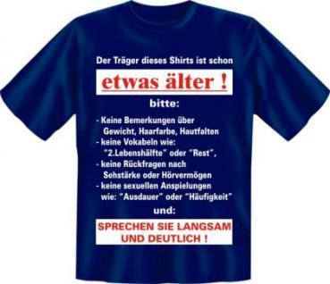 Geburtstag T-Shirt - Langsam etwas älter - Vorschau