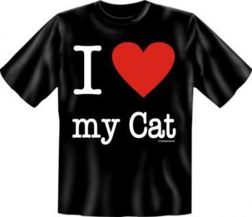 T-Shirt - I love my Cat