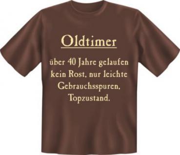 Geburtstag T-Shirt - Oldtimer 40