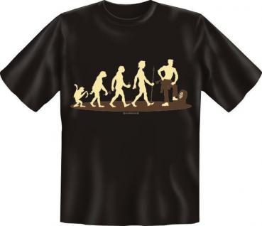 Fun Collection T-Shirt Evolution Homo Stupidus Shirt Geschenk Auswahl bedruckt - Vorschau 2
