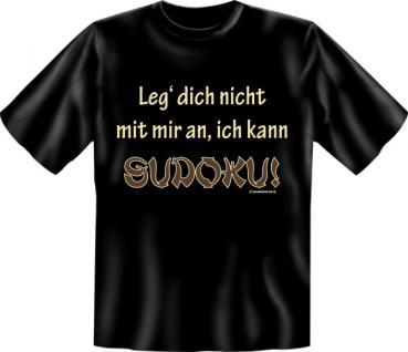 Fun T-Shirt - Ich kann Sudoku