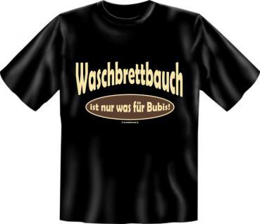 Fun T-Shirt - Waschbrettbauch