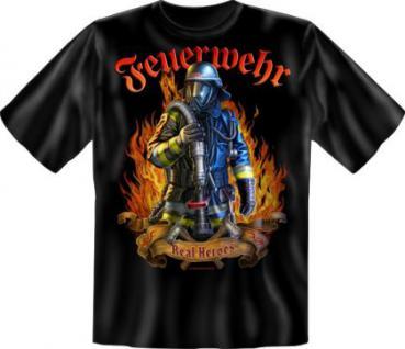 Feuerwehr T-Shirt - Real Heroes