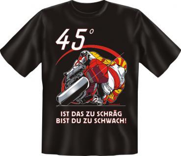 Biker T-Shirt - 45 Grad - Vorschau