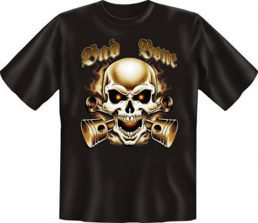 Biker T-Shirt - Bad Bone - Vorschau