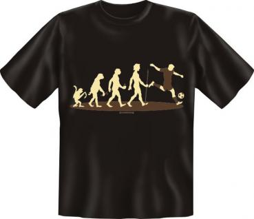 T-Shirt - Evolution Fussball