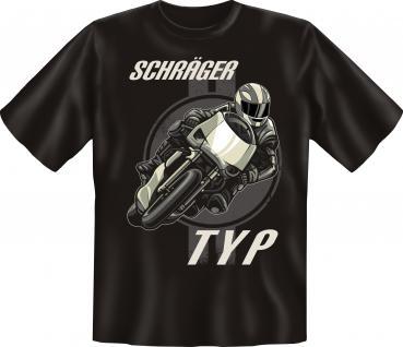 Biker T-Shirt - Schräger Typ