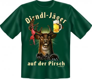 T-Shirt - Dirndl Jäger