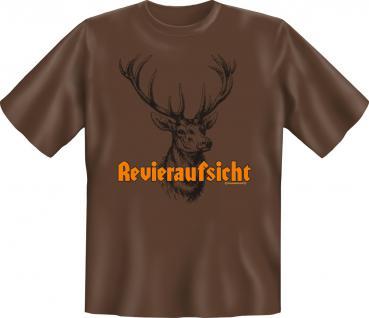 T-Shirt - Revieraufsicht Hirsch