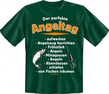 Angler T-Shirt - Der perfekte Angeltag Angel Shirt - Vorschau