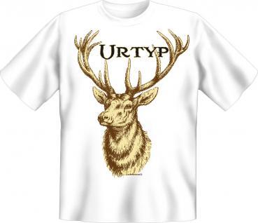 Jäger T-Shirt - Urtyp Hirsch
