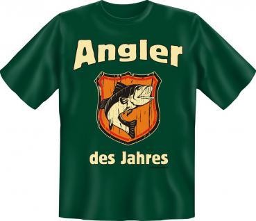 T-Shirt - Angler des Jahres Angel Shirt