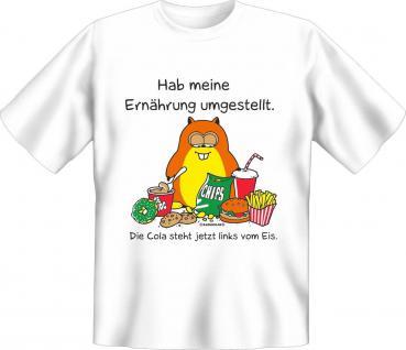 Fun T-Shirt Hamster Ernährung umgestellt Shirt Geburtstag Geschenk geil bedruckt