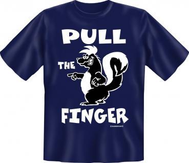 T-Shirt - Skunk Pull the Finger