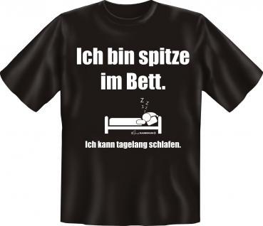 T-Shirt - Spitze im Bett - Vorschau