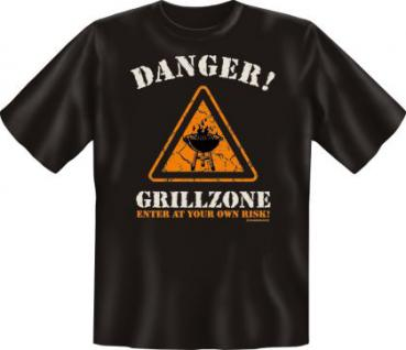 Grill T-Shirt - Danger Grillzone