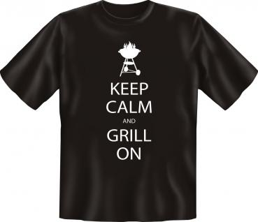 Grill T-Shirt - Keep Calm and grill on