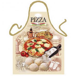 Grillschürze Pizza Grill Schürze geil bedruckt mit Gratis Griller Urkunde