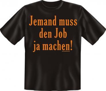 Fun Collection T-Shirt Beruf Büro Job Geschenk Auswahl Arbeits-Shirts bedruckt - Vorschau 4