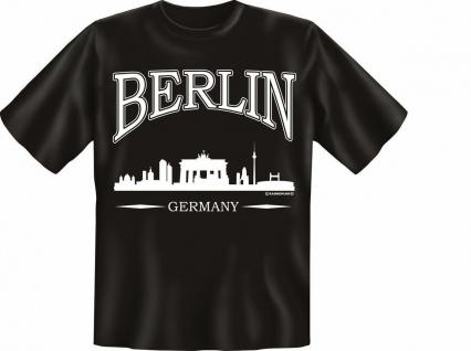 T-Shirt - City Berlin Germany - Fun Shirts Geburtstag Geschenk geil bedruckt