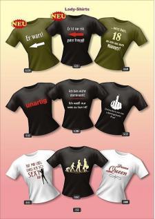 Fun Collection Lady-Shirt Girlie Shirts Geschenk Auswahl T-Shirt geil bedruckt