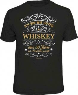 Geburtstag T-Shirt - 50 Jahre gereift wie ein guter Whiskey - Sprüche T Shirt