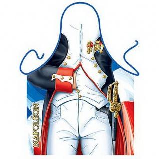 Lustige Männer Grillschürze Napoleon Kochschürze Partyschürze Herren Geschenk
