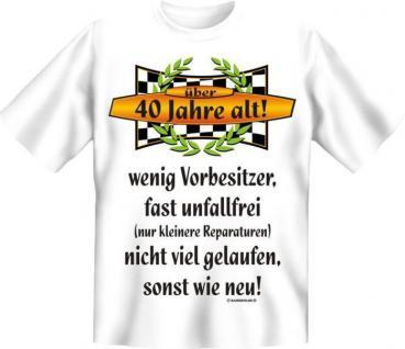 Fun Collection T-Shirt 40 Jahre Vierzig Shirt 40ter Geburtstag Geschenk bedruckt - Vorschau 2