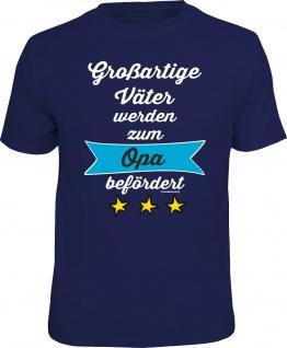 Geburtstag T-Shirt Großartiger Vater zum Opa Vatertag Shirt Geschenk bedruckt