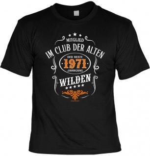 Geburtstag T-Shirt - 50 Jahre - 1971 - Der beste Jahrgang - Fun Shirt Geschenk