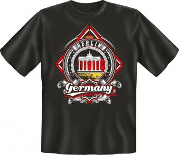 Deutschland T-Shirt Berlin Germany Geburtstag Geschenk Shirt geil bedruckt
