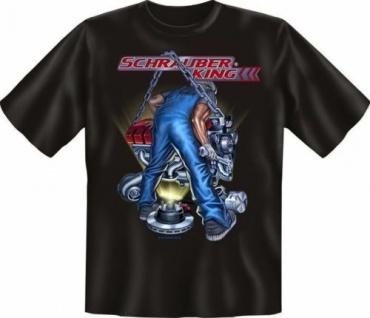 geil bedrucktes Fun T-Shirt Shirts - Schrauber King Schrauberking - Geschenk