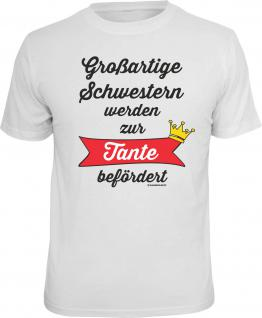 Geburtstag T-Shirt Großartige Schwester zur Tante Shirt Geschenk bedruckt