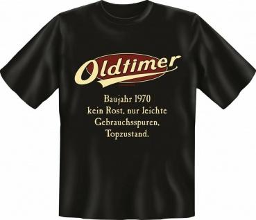 Herren Geburtstag T-Shirt - Oldtimer Baujahr 1970 - FunShirt Geschenk
