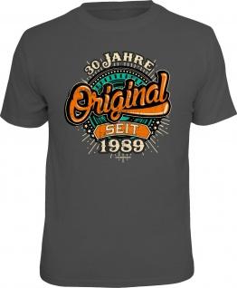 lustige Geburtstag T-Shirt - 30 Jahre Original seit 1989 Fun Shirt Geschenk