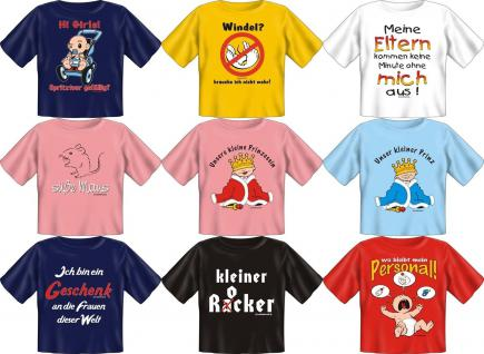Fun Collection T-Shirts Baby-Shirt Baby Shirts Geschenk Auswahl lustig bedruckt