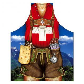 Grillschürzen - Schweizer Mann