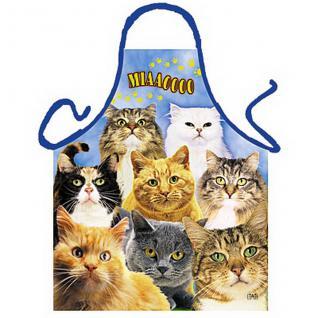 Grillschürzen - Katzen