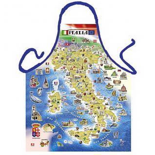Grillschürzen - Italian Map - Vorschau 1
