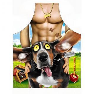 Grillschürzen - Glücklicher Hund