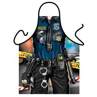 Grillschürzen - Police Man