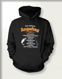 Angler Sweatshirt mit Kapuze - Der perfekte Angeltag