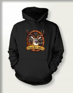 Jagd Sweatshirt mit Kapuze - Jäger des Jahres - Vorschau