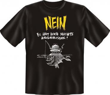 Angler T-Shirt - Nichts angebissen Angel Shirt Geburtstag Geschenk geil bedruckt
