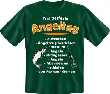 Geburtstag Angler T-Shirt Shirt für Angler geil bedruckt - Der perfekte Angeltag